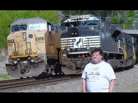 Union Pacific Breaks Down Norfolk Southern Passes