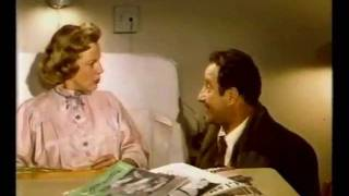 The Glenn Miller Story 1954 - Missing Scene #5 - Helen and Sy Schribman at the Hospital