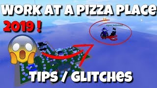 NUOVO GLITCHES / SECRET PLACES 2019 - ROBLOX Lavoro in un Pizza Place
