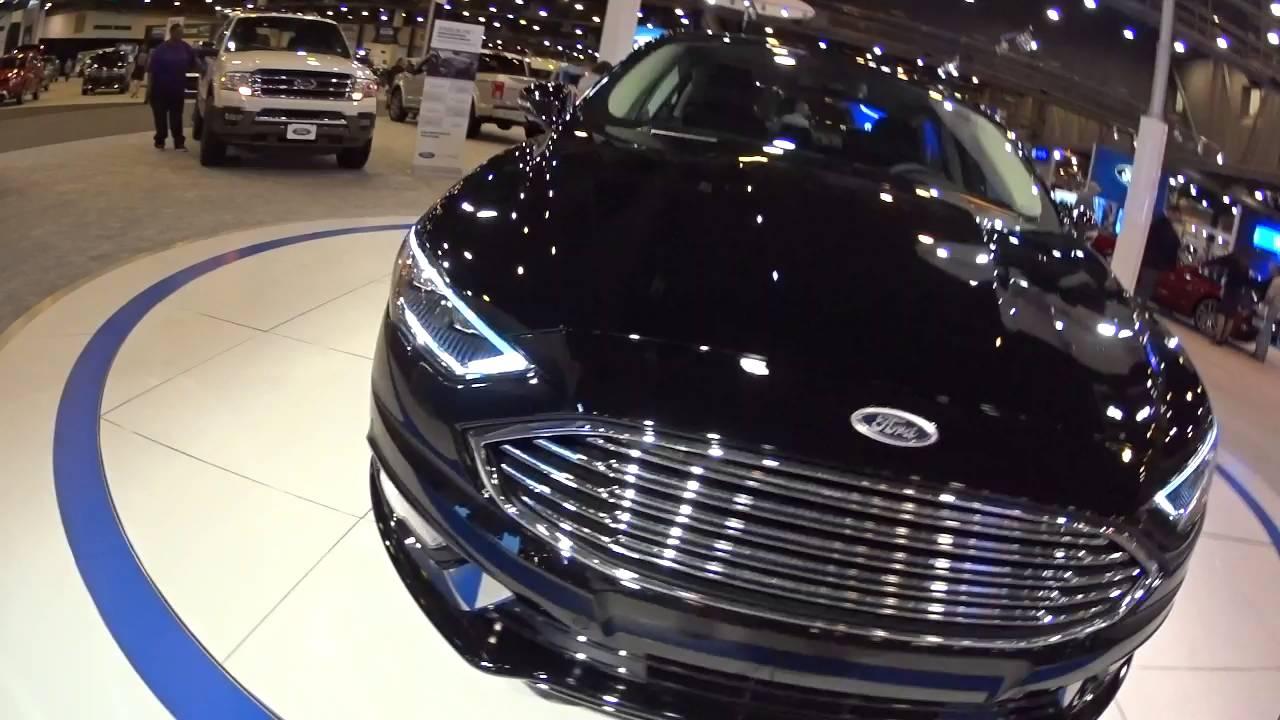 2017 Ford Fusion Anium