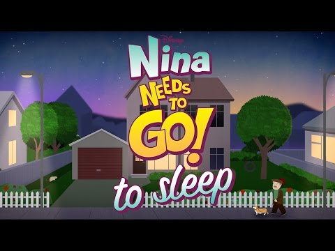 To Sleep | Nina Needs to Go | Disney Junior