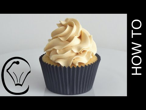 Download How To Make Thick Stable Caramel Swiss Meringue Buttercream by Cupcake Savvy's Kitchen Images