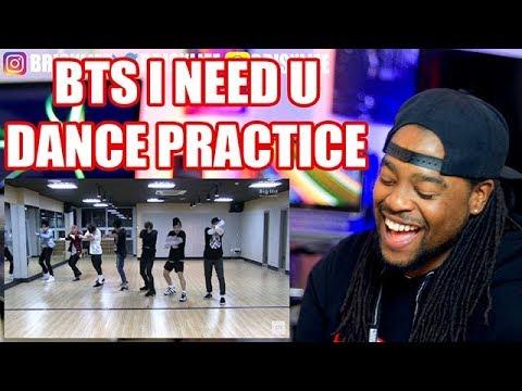 BTS | I NEED U | Dance Practice | REACTION!!! | 방탄소년단