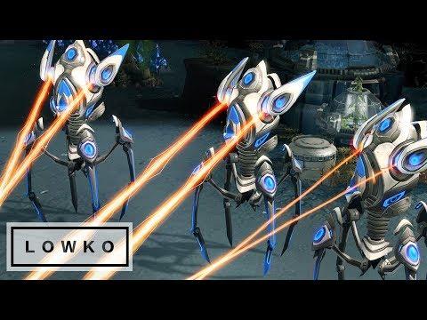 StarCraft 2: LASER GIRAFFES! (Bo3)