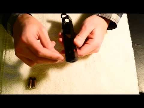 Ruger SR9C slide disassembly