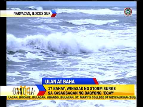 Floods swamp Central Luzon provinces