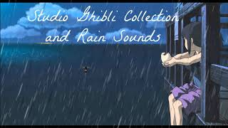 Piano Studio Ghibli Collection with Rain sound for Deep Sleep - Nhạc Thư Giãn Cùng Tiếng Mưa