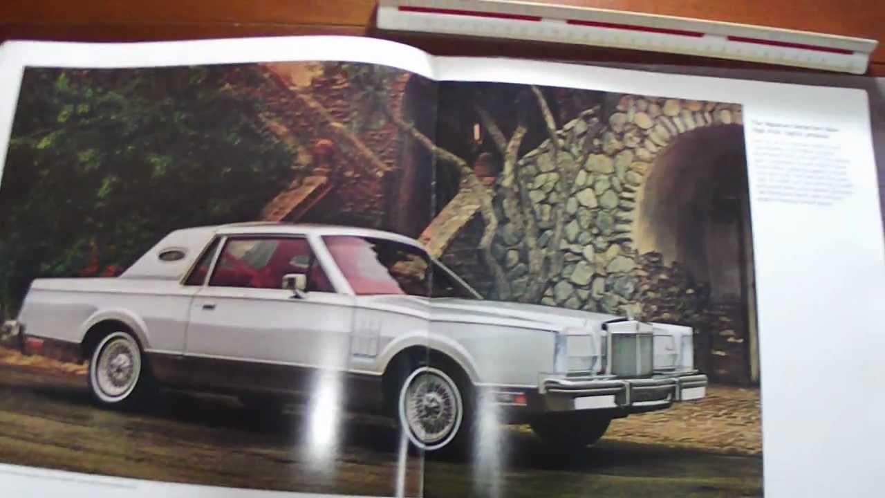 brochure lincoln continental mark vi 1981 youtube. Black Bedroom Furniture Sets. Home Design Ideas