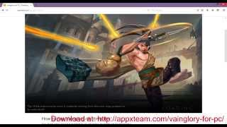 Vainglory for PC | Download Vainglory for PC 2015 NEW