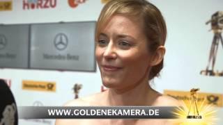 Silke Bodenbender im Interview - GOLDENE KAMERA 2013