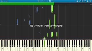 Tanpa Tergesa - Juicy Luicy Piano Tutorial