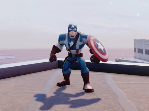 Captain America Disney Infinity 2.0 Marvel Superhero Action Figure NEW