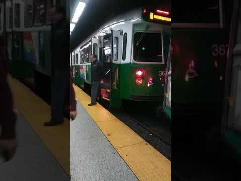 Mbta green line government center and Haymarket station's