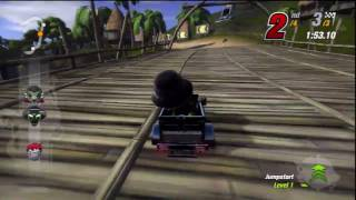 Multiplayer Game 3 Series Finale - ModNation Racers Gameplay