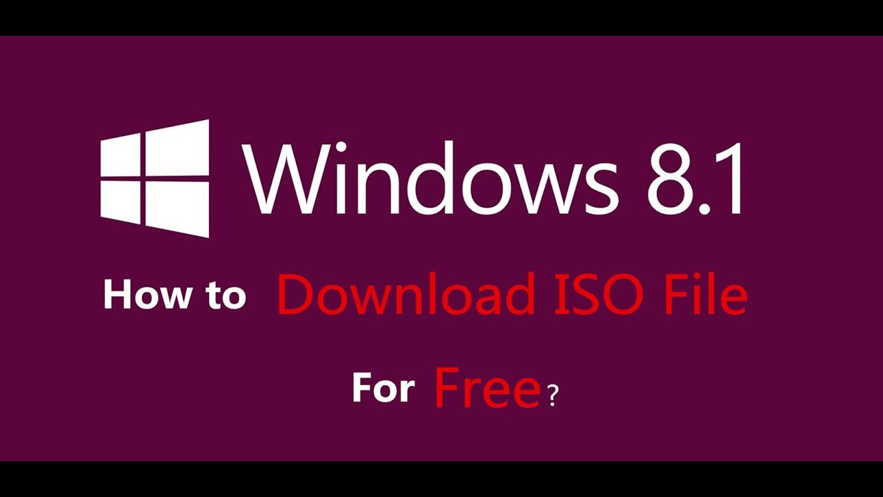 windows 8.1 iso file free download