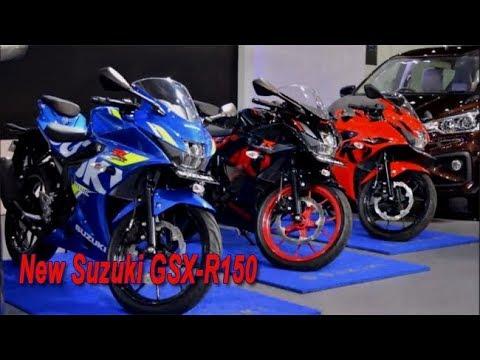 New Suzuki Gsx R150 2018 Keyless Non Keyless Ada Warna Baru Youtube