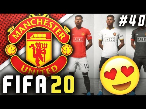 NEW KITS & SPONSORS ARE HERE!! 😍 – FIFA 20 Manchester United Career Mode EP40