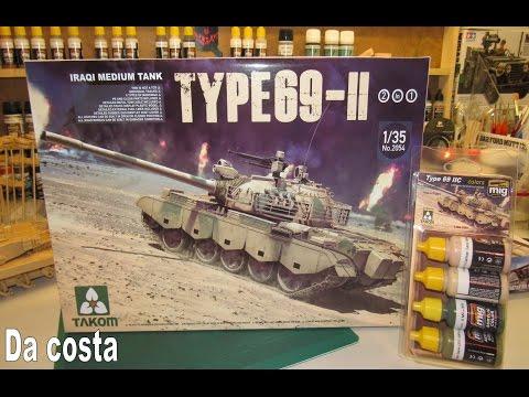 Takom - Type 69-II - Iraqi Army, 1991 Operation Desert Storm - Lets start build part 1