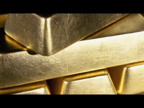 Gold hits the dust but not rock bottom