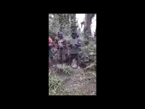 Pembacaan Surat pernyataan pasukan pembebasan papua (OPM) - Setelah insident Di tembagapura