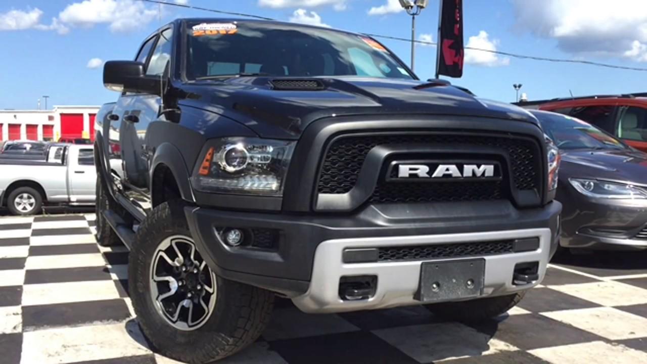 2017 Ram 1500 Rebel Heated Seats Media Ports Tow Hooks Truck 2014 Dodge Crew Cab