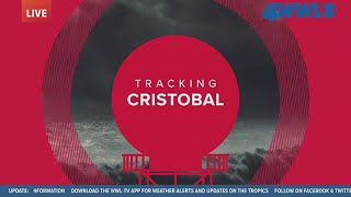 Tracking Cristobal: System downgraded to Tropical Depression, expected to strengthen toward La.