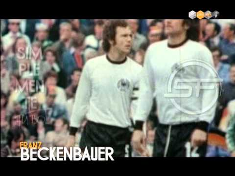 Franz Beckenbauer (Revista Simplemente Fútbol Febrero)