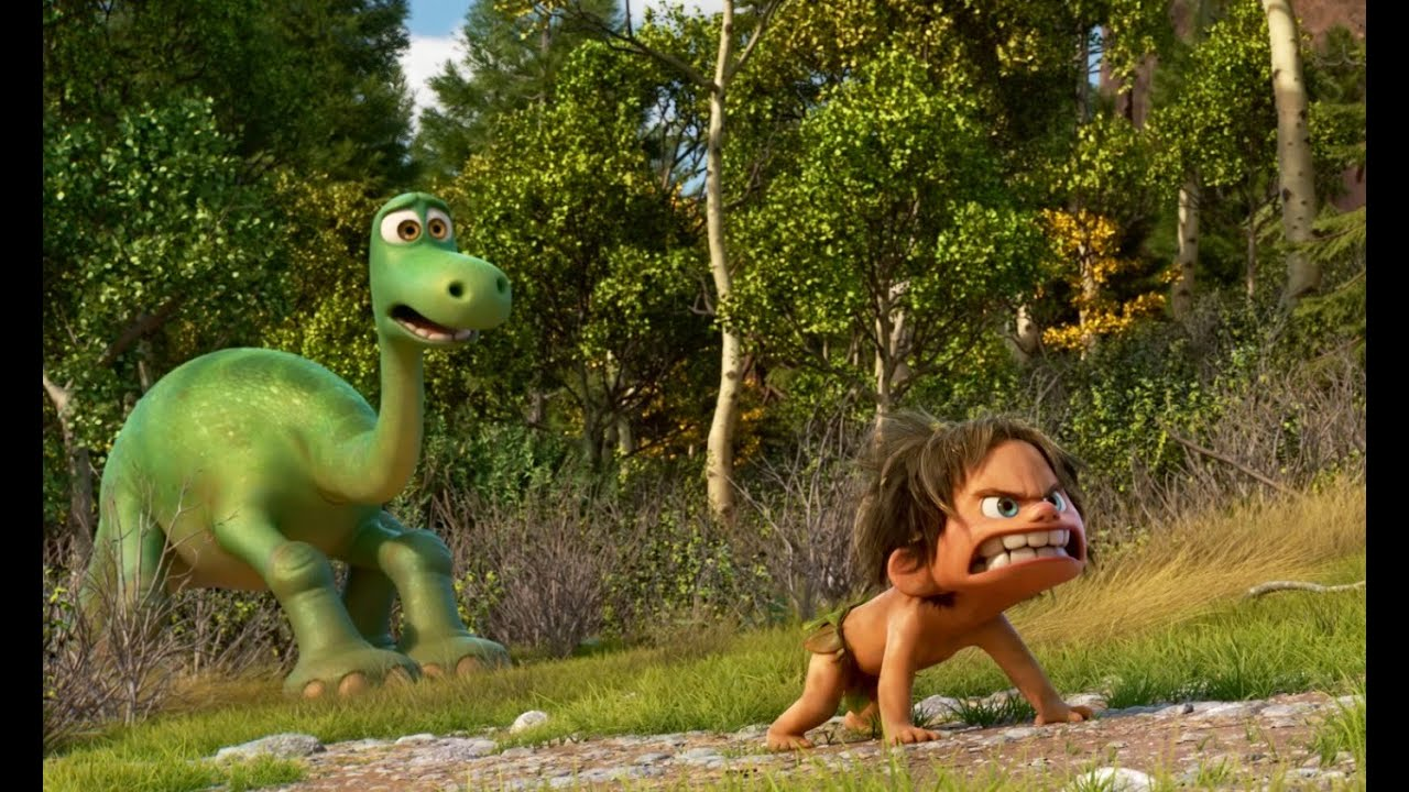 Pixar returns to the big screen again in 2015 with The Good Dinosaur