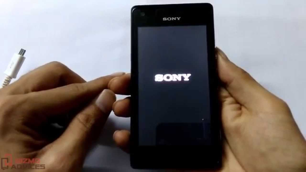 how to open sony xperia on pc
