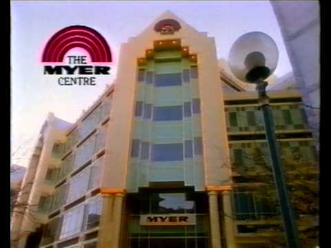 The Myer Centre Adelaide opening 3 June 1991