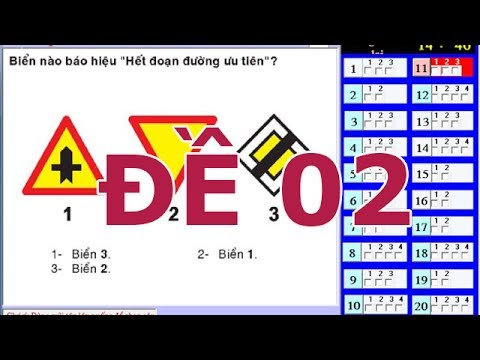 Mẹo thi bằng lái xe A1 - 150 câu hỏi thi bằng lái xe A1 (Đề số 2) thibanglaixehn.com