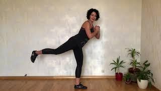 5 упражнений для упругих ягодиц Виктория Савенко
