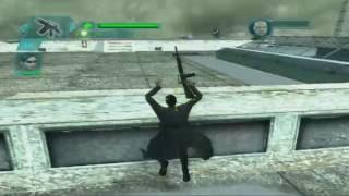The Matrix Path of Neo. Миссия 13 - Бой на крыше:
