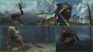 NEW CREATURES in Far Harbor Trailer - Fallout 4 DLC