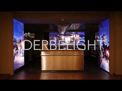 Derbelight Illuminated Art. Nikkei Nine, Four Seasons Hotel Hamburg, Germany