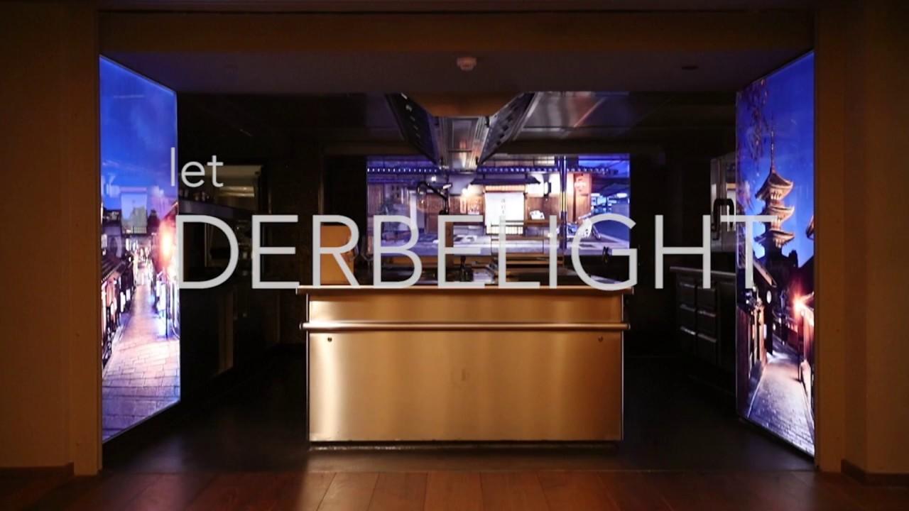 Derbelight Illuminated Art Nikkei Nine Four Seasons Hotel Hamburg Germany Youtube
