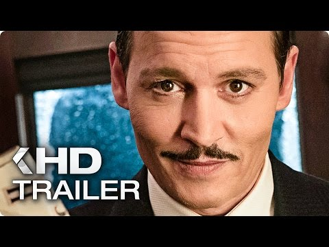 MORD IM ORIENT EXPRESS Trailer German Deutsch (2017)