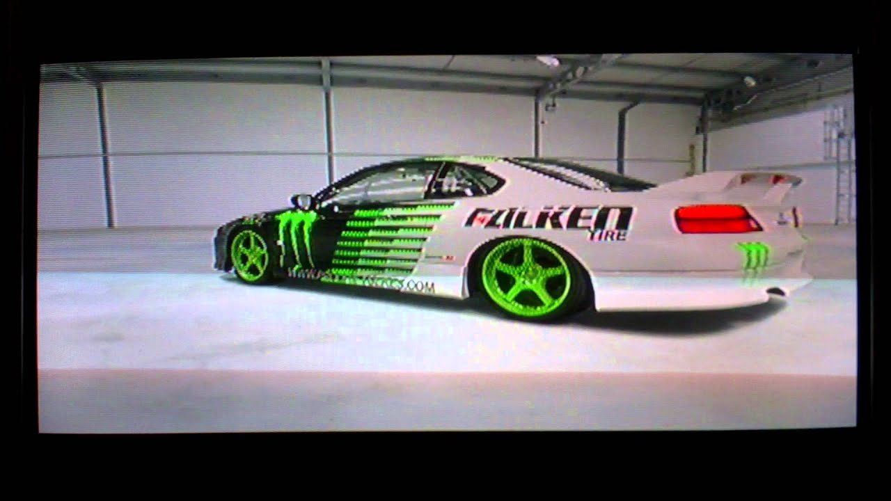 Forza Motorsport 4 Nissan Silvia S15 Drift Monster Energy Falken
