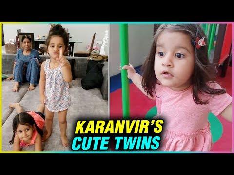 Karanvir Bohra ADORABLE Twin Daughters Will Melt Your Heart