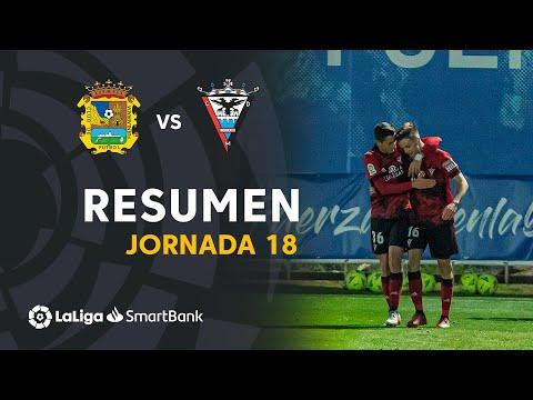 CF Fuenlabrada Mirandes Goals And Highlights