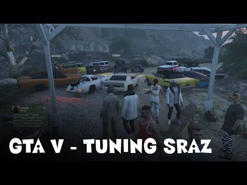 GTA V online - tuning sraz