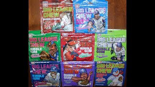 Big League Chew Buḃble Gum Review – 8 Flavors!