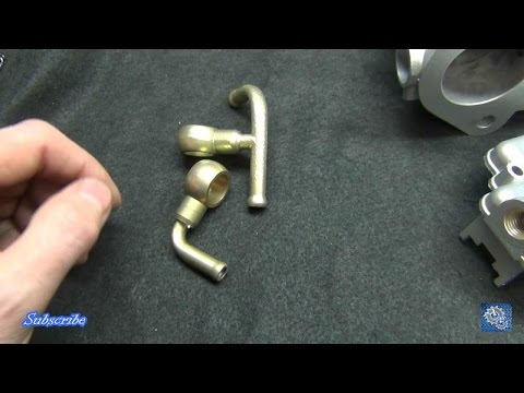 Easy Zinc Plating and Yellow Chromate on Banjo Fittings (Copy Cad  alternative)