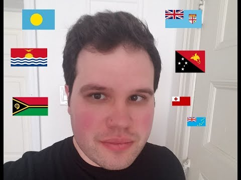 American Polyglot Rehearses Multiple Languages from Oceania