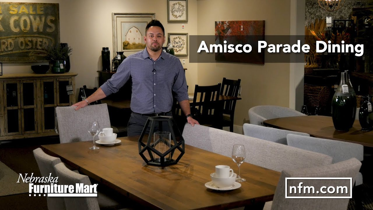 Bring A Touch Of Modern Style To Your Dining Room With The Parade Dining Collection From Amisco Youtube
