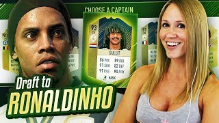 THE GREATEST GOAL EVER IN FIFA 18!! DRAFT TO RONALDINHO #10