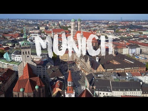 MUNICH | MÜNCHEN, Germany | Beautiful City Aerial Drone 4K by thedronebook