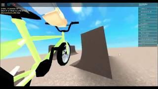 Roblox BMX Simulater Sick stunts!! 1