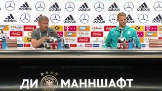 LIVE aus dem DFB-Medienzentrum Watutinki mit Manuel Neuer