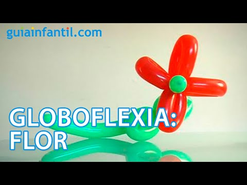 Globoflexia aprende a hacer una flor youtube - Como hacer figuras con globos ...